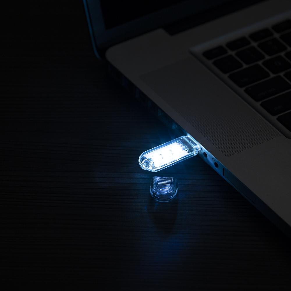 Luminária Plástica USB com Led